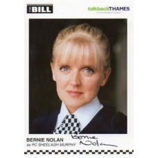 Bernie Nolan Autograph - The Bill - Signed 6x4 Cast Card 3 - Handsigned - AFTAL