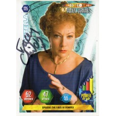 Tracey Childs Autograph - Signed 3.5 x 2.5 Doctor Who Trading Card 1 - Handsigned - AFTAL