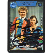 Colin Baker Autograph - Signed 3.5 x 2.5 Doctor Who Trading Card 3 - Handsigned - AFTAL