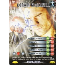 Matthew Chambers Autograph - Signed 3.5 x 2.5 Doctor Who Trading Card 2 - Handsigned - AFTAL