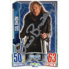 David Bradley Autograph - Signed 3.5 x 2.5 Doctor Who Trading Card 1 - Handsigned - AFTAL
