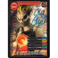 Chris Chibnall Autograph - Signed 3.5 x 2.5 Doctor Who Trading Card 2 - Handsigned - AFTAL