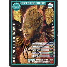 Yasmin Bannerman Autograph - Signed 3.5 x 2.5 Doctor Who Trading Card 1 - Handsigned - AFTAL