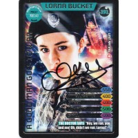 Christina Chong Autograph - Signed 3.5 x 2.5 Doctor Who Trading Card - Handsigned - AFTAL
