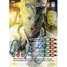 Chipo Chung Autograph - Signed 3.5 x 2.5 Doctor Who Trading Card 1 - Handsigned - AFTAL