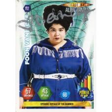 Debbie Chazen Autograph - Signed 3.5 x 2.5 Doctor Who Trading Card - Handsigned - AFTAL