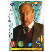 Christopher Benjamin Autograph - Signed 3.5 x 2.5 Doctor Who Trading Card - Handsigned - AFTAL