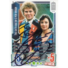 Colin Baker Autograph - Signed 3.5 x 2.5 Doctor Who Trading Card 6 - Handsigned - AFTAL