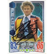 Colin Baker Autograph - Signed 3.5 x 2.5 Doctor Who Trading Card 9 - Handsigned - AFTAL