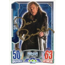 David Bradley Autograph - Signed 3.5 x 2.5 Doctor Who Trading Card 2 - Handsigned - AFTAL