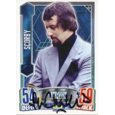 John Challis Autograph - Signed 3.5 x 2.5 Doctor Who Trading Card 2 - Handsigned - AFTAL