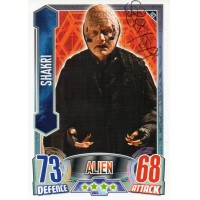 Steven Berkoff Autograph - Signed 3.5 x 2.5 Doctor Who Trading Card - Handsigned - AFTAL