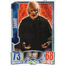 Steven Berkoff Autograph - Signed 3.5 x 2.5 Doctor Who Trading Card 1 - Handsigned - AFTAL