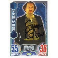 Simon Callow Autograph - Signed 3.5 x 2.5 Doctor Who Trading Card 1 - Handsigned - AFTAL