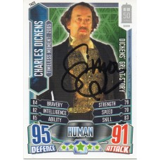 Simon Callow Autograph - Signed 3.5 x 2.5 Doctor Who Trading Card 2 - Handsigned - AFTAL