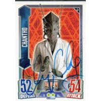 Chipo Chung Autograph - Signed 3.5 x 2.5 Doctor Who Trading Card 2 - Handsigned - AFTAL