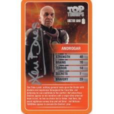 Ben Bones Autograph - Signed 3.5 x 2.5 Doctor Who Trading Card - Handsigned - AFTAL