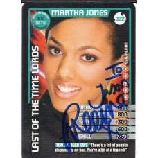 Freema Agyeman Autograph - Signed 3.5 x 2.5 Doctor Who Trading Card - Handsigned - AFTAL