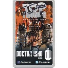 Mark Bonnar Autograph - Signed 3.5 x 2.5 Doctor Who Trading Card 2 - Handsigned - AFTAL