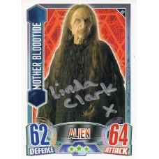 Linda Clark Autograph - Signed 3.5 x 2.5 Doctor Who Trading Card 2 - Handsigned - AFTAL