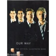 G4 Autograph - Our Way - Hardback Book Signed - Genuine and Handsigned - AFTAL