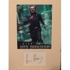 Simon Pegg Autograph - Star Trek - Signed 16x12 Mount - Handsigned and Genuine - AFTAL