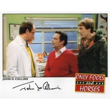 John D. Collins Autograph - Only Fools and Horses - Signed 10x8 Photo 6 - AFTAL