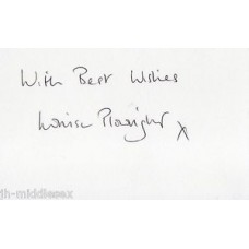 Louise Plowright Autograph - EastEnders - Signed Card - Handsigned - AFTAL