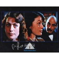 Paris Jefferson Autograph - Poirot - Signed 10x8 Photo - Handsigned - AFTAL