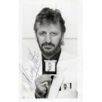 Ringo Starr Autograph - The Beatles - Signed 5.5x3.5 Photo - Handsigned - AFTAL