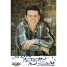 Andrew Lynford - EastEnders - Signed 6x4 Cast Card 2 - Handsigned - AFTAL