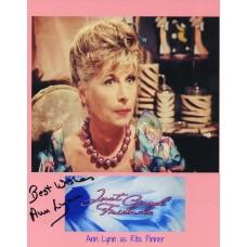 Ann Lynn Autograph - Just Good Friends - Signed 10x8 Photo - AFTAL