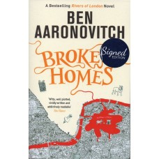 Ben Aaronovitch Autograph - Broken Homes - Paperback Book Signed - Handsigned - AFTAL