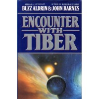 Buzz Aldrin Autograph - Encounter With Tiber - Hardback Book Signed 2 - AFTAL