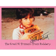 Carole Ann Ford Autograph - St Trinians Train Robbery - Signed 10x8 Photo - Handsigned - AFTAL