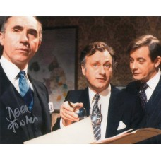 Derek Fowlds Autograph - Signed 10x8 Photo 3 - Handsigned and Genuine - AFTAL