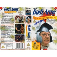 Frank Williams Autograph - Dads Army - Signed Video Cover - Handsigned - AFTAL