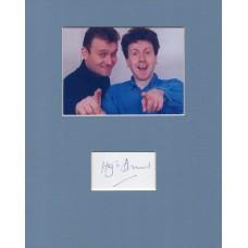Hugh Dennis Autograph - Signed 10x8 Mount - Handsigned and Genuine - AFTAL