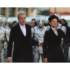 Peter Capaldi and Michelle Gomez - Doctor Who - 10x8 Unsigned Still 2
