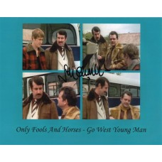 John Challis - Only Fools and Horses - 10x8 Photo 2 - Handsigned - AFTAL