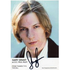 Gary Grant Autograph - The Bill - Signed 6x4 Cast Card 2 - Handsigned - AFTAL