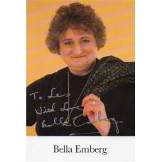 Bella Emberg Autograph - Signed 6x4 Picture - Handsigned - AFTAL