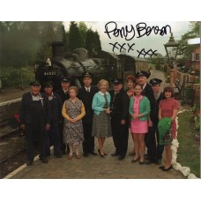 Perry Benson Autograph - Oh Doctor Beeching - Signed 10x8 Photo - AFTAL