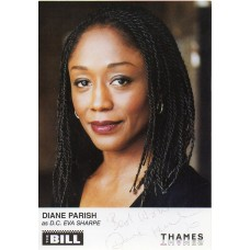 Diane Parish Autograph - The Bill - Signed 6x4 Cast Card 2 - Handsigned - AFTAL