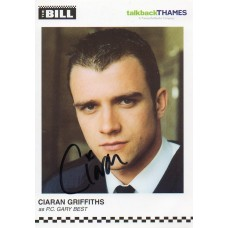 Ciaran Griffiths Autograph - The Bill - Signed 6x4 Cast Card 2 - Handsigned - AFTAL