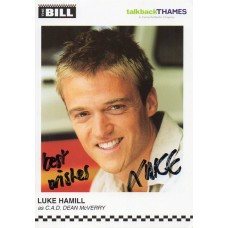 Luke Hamill Autograph - The Bill - Signed 6x4 Cast Card 2 - Handsigned - AFTAL