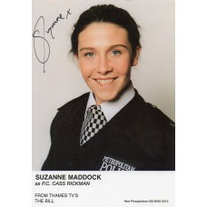 Suzanne Maddock Autograph - The Bill - Signed 6x4 Cast Card 4 - Handsigned - AFTAL