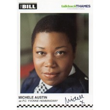 Michele Austin Autograph - The Bill - Signed 6x4 Cast Card 2 - Handsigned - AFTAL
