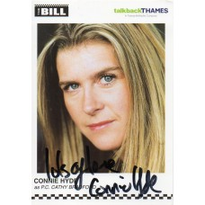 Connie Hyde Autograph - The Bill - Signed 6x4 Cast Card 4 - Handsigned - AFTAL