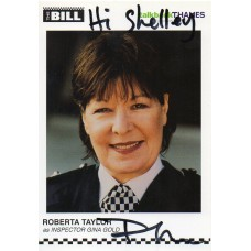 Roberta Taylor Autograph - The Bill - Signed 6x4 Cast Card 6 - Handsigned - AFTAL